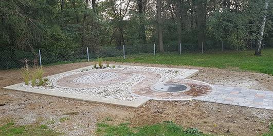 Trosišče na Puconskem pokopališču